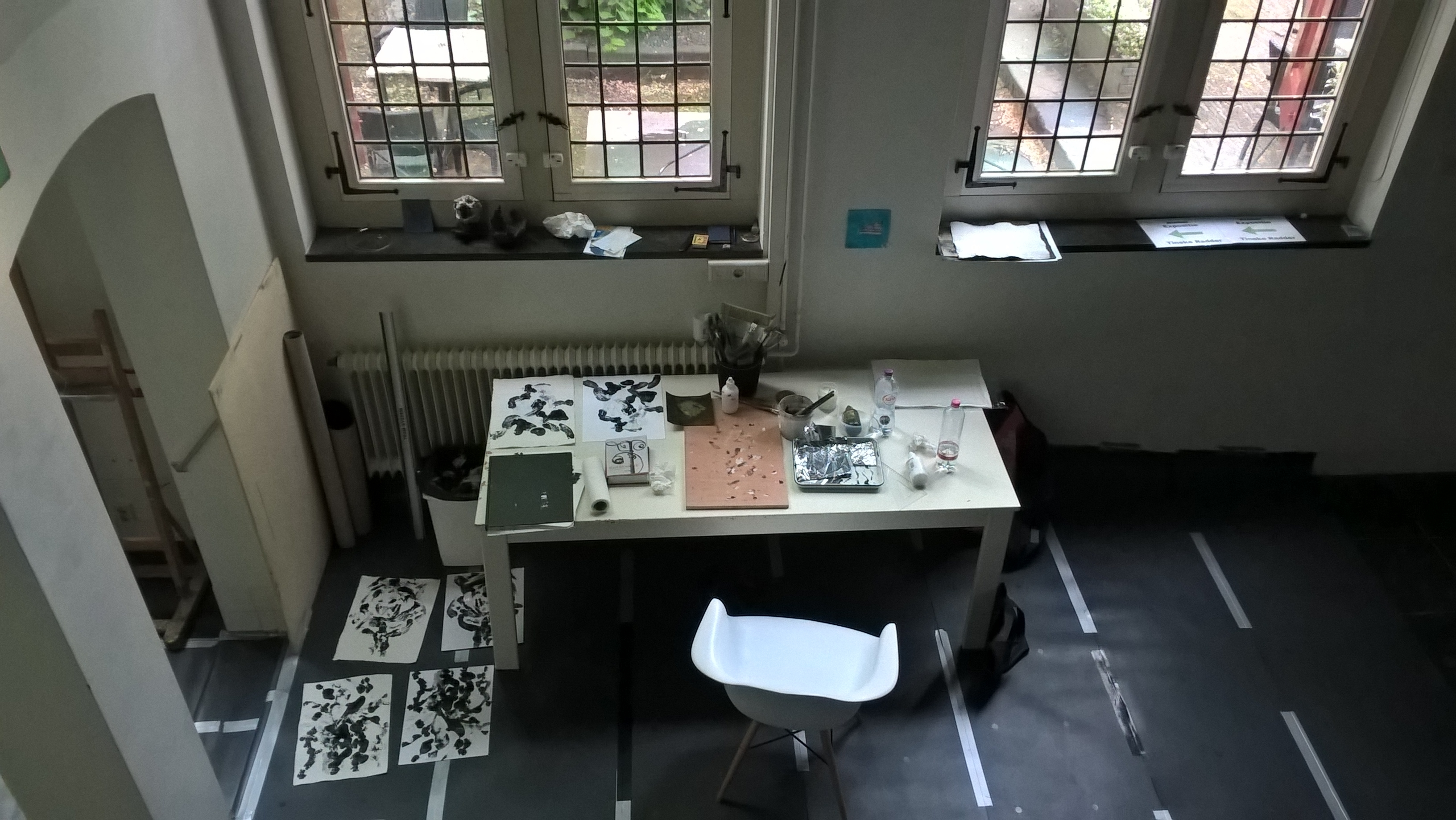 Foto atelier, expositie Weeshuis 6