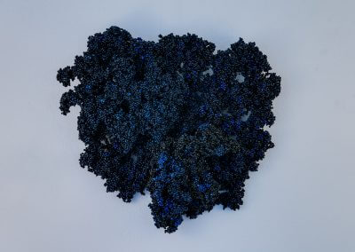 reliëf blauw