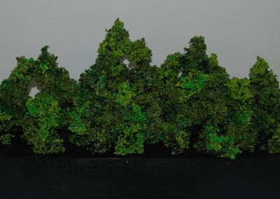 sculptuur ontbossing aangestast bos 1