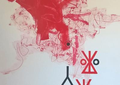 acryl op alupanel 80x120 cm