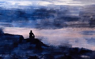 Gedicht van Rob Haster bij het schilderij Idylle