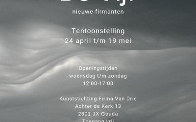 24 april t/m 19 mei, groepstentoonstelling bij kunststichting Firma van Drie