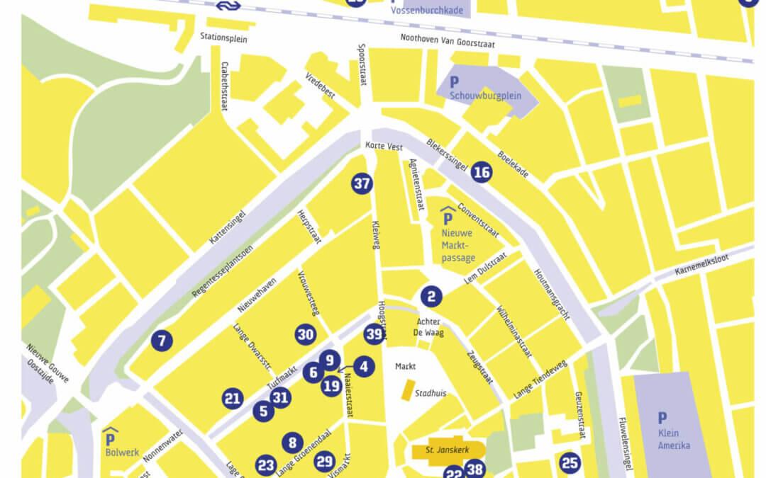 Open Atelier Gouda, 2 en 3 oktober bij het Kantoor van nU, Peperstraat 20 in Gouda